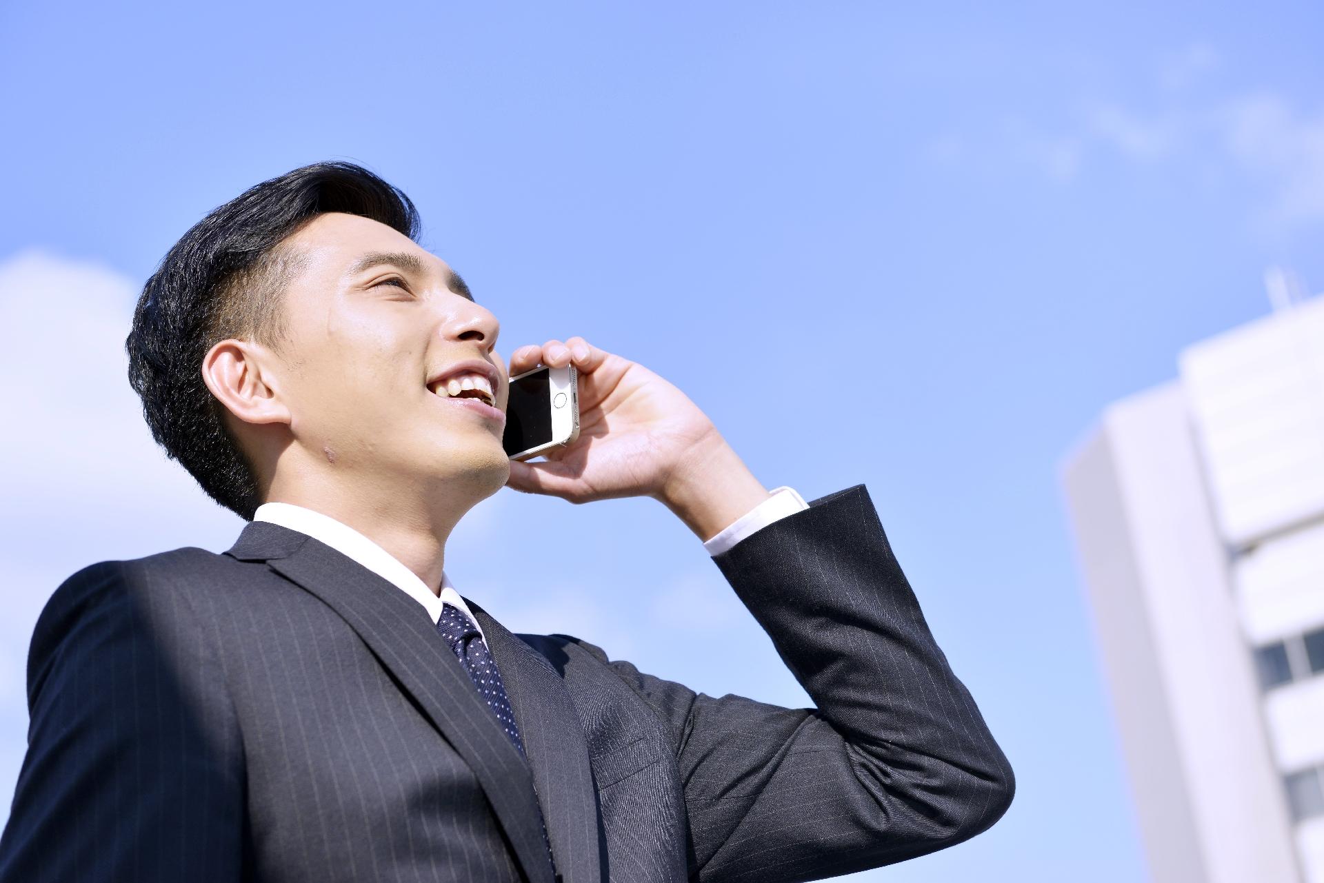 入居の電話